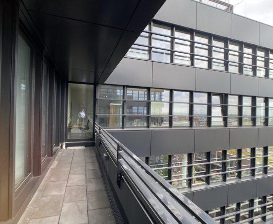 Das Bürogebäude der Cadmus PartG MMB